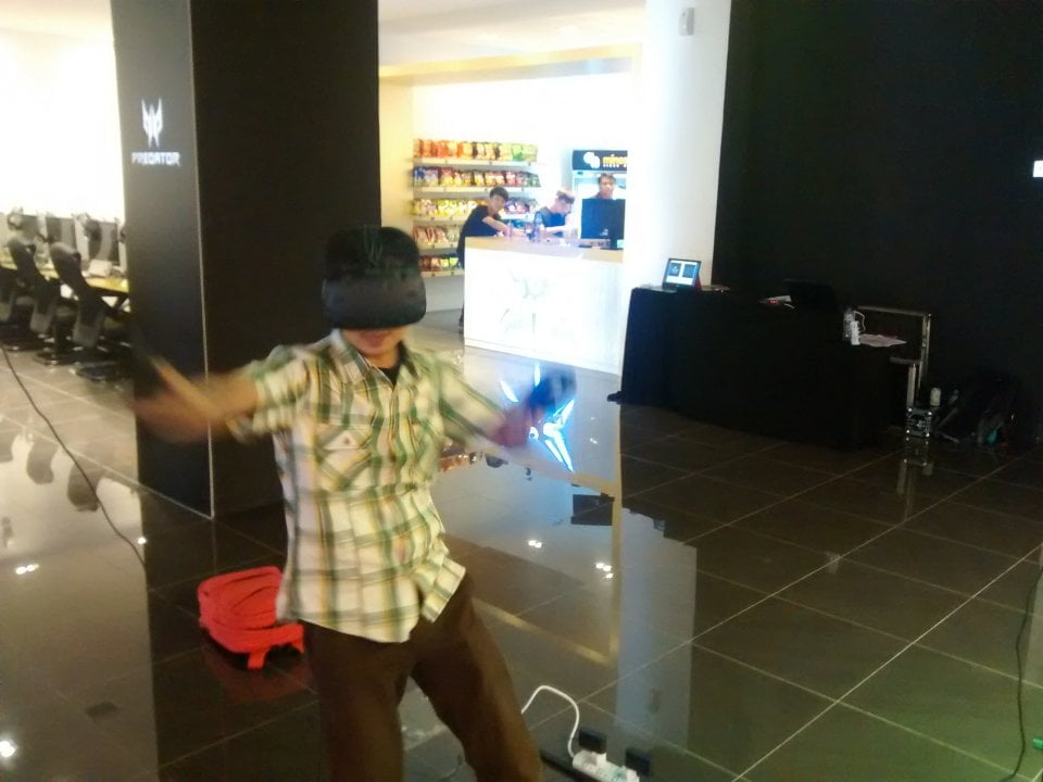 HTC Vive First Impressions