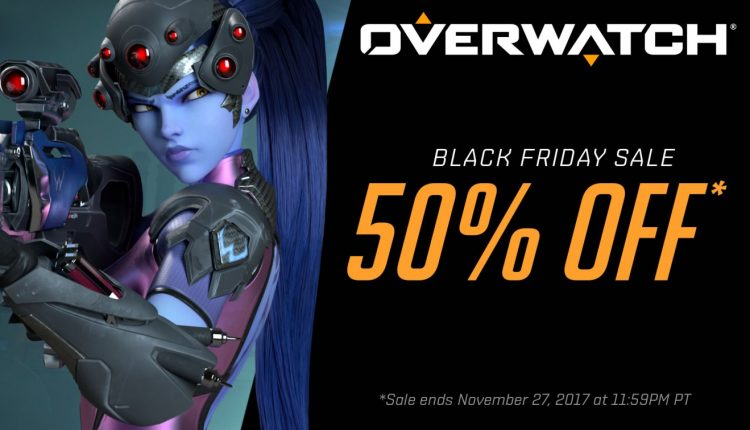 blizzard s black friday deals featuring discounts for overwatch