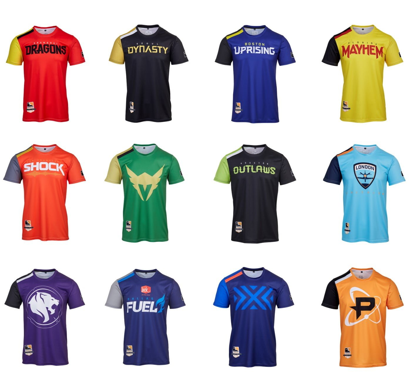 Overwatch League Sublimated Jerseys – Gamer Matters